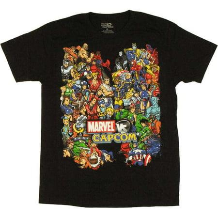 Marvel vs Capcom Team T Shirt Sheer
