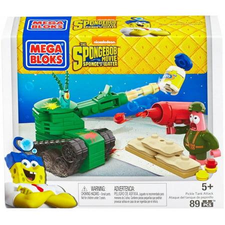 Mega Bloks Spongebob SquarePants Pickle Tank Attack