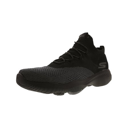 1bebdbb78261 Skechers - Skechers Women s Go Walk Revolution Ultra Black   Grey  Ankle-High Fabric Walking Shoe - 9M - Walmart.com
