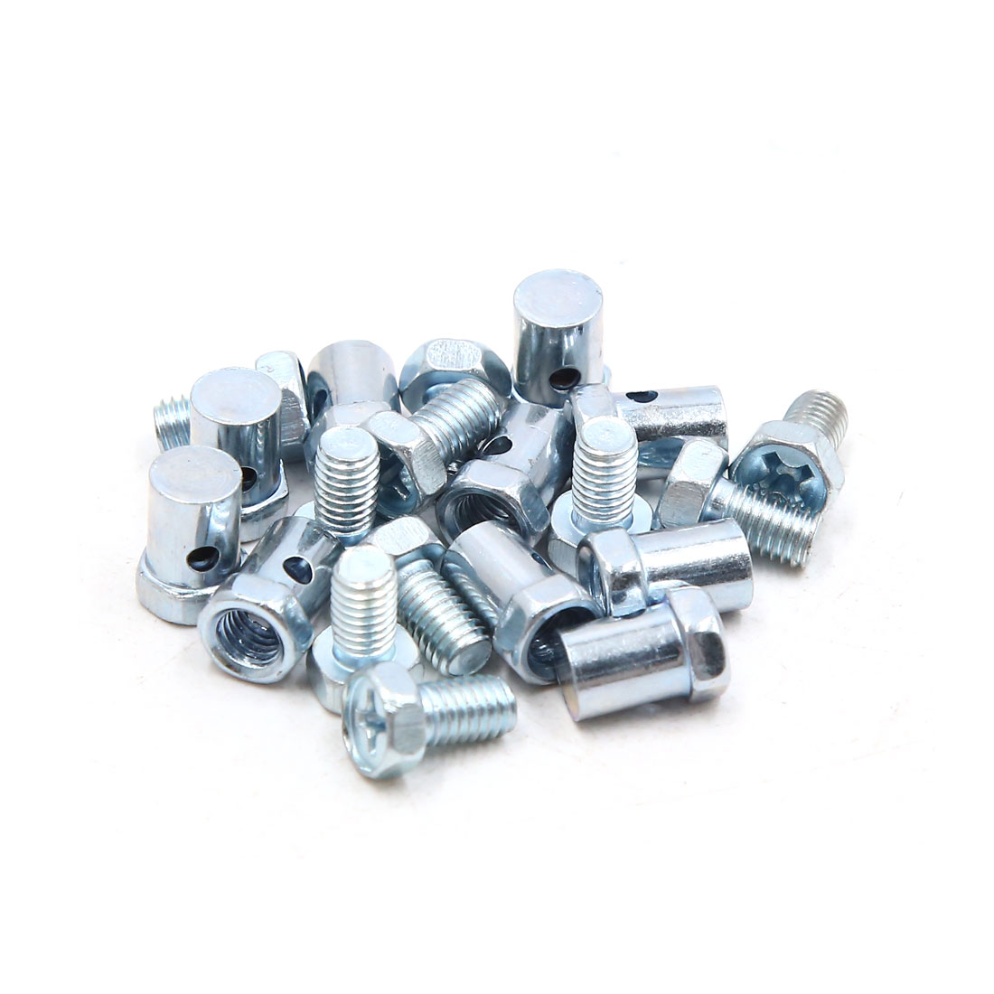 10pcs 5mm Thread Motorcycle Scooter Brake Cable Wire Solderless Nipple Screws