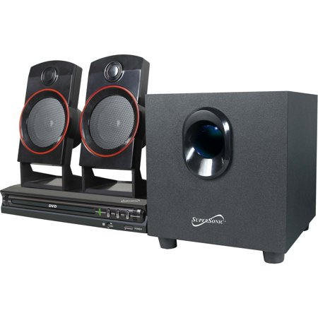 Supersonic SC-35HT 2.1-Channel DVD Home Theater