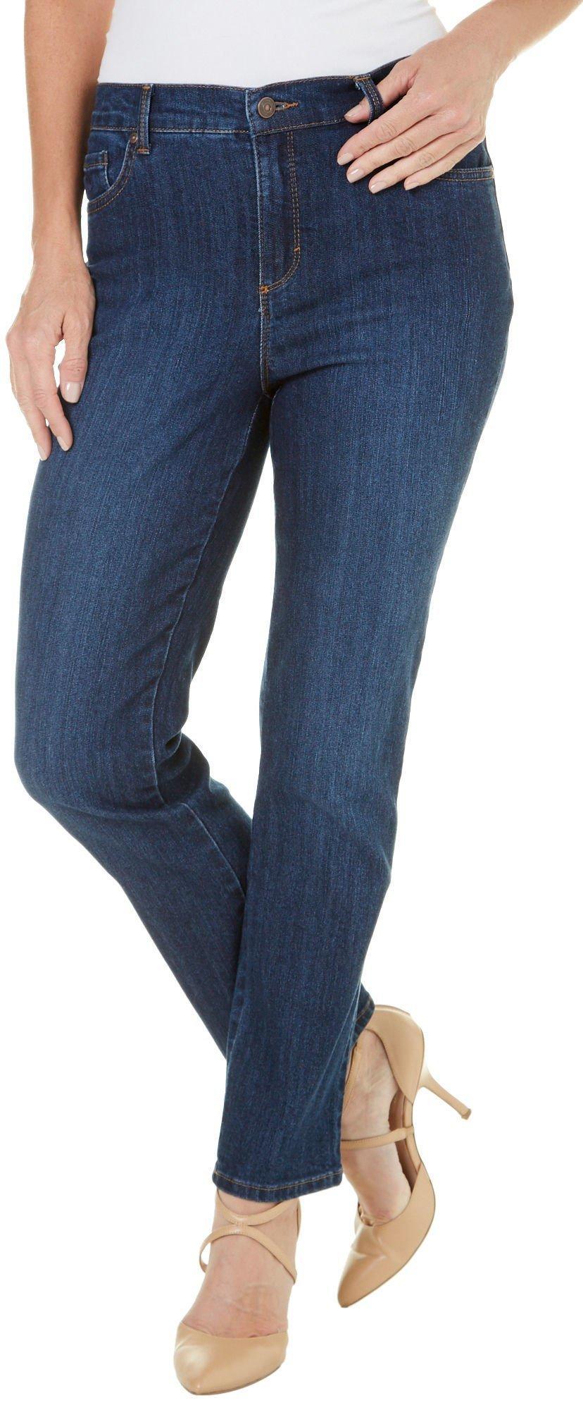 Gloria Vanderbilt AMANDA Scottsdale Blue Wash Original Slimming Jeans 24 NEW!