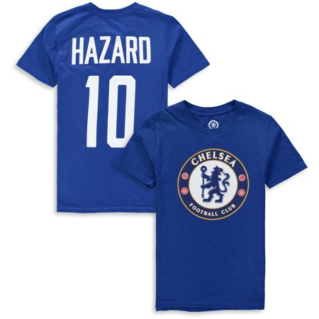Eden Hazard Chelsea Youth Club Name & Number T-Shirt - Blue ()