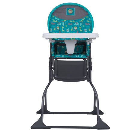 Cosco Simple Fold™ Full Size High Chair with Adjustable Tray, Safari Style ()