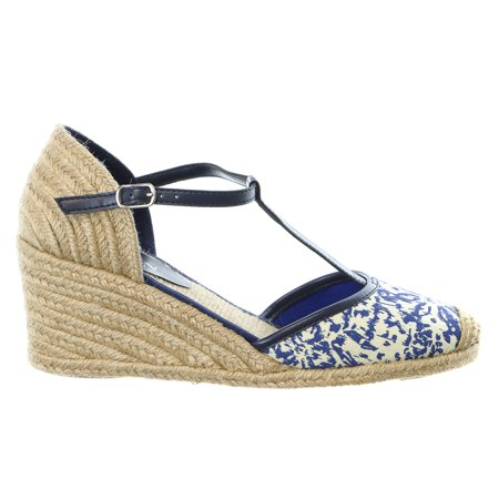 lauren ralph lauren carolina espadrille wedge sandal shoe womens. Black Bedroom Furniture Sets. Home Design Ideas