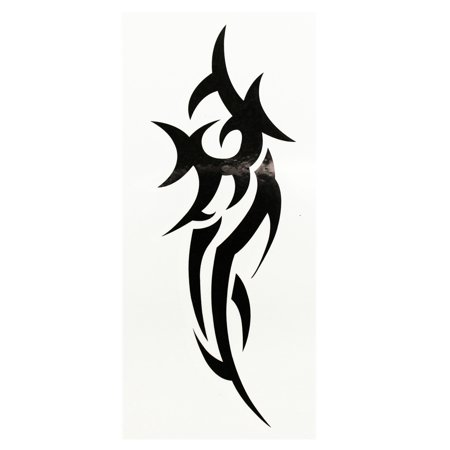 Abstract Pursuing Creature Temporary Tribal Tattoo