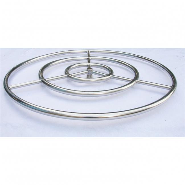 HearthDistribution OBRSS-30R 30in Round Ring Burner Arctic Flame