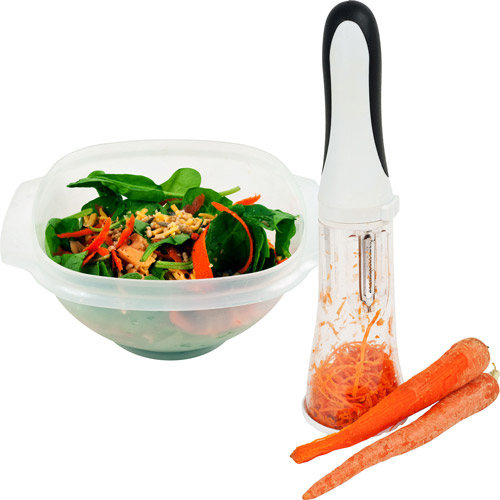 Bonzai All-In-One 3-Blade Peeler with Collecting Chamber