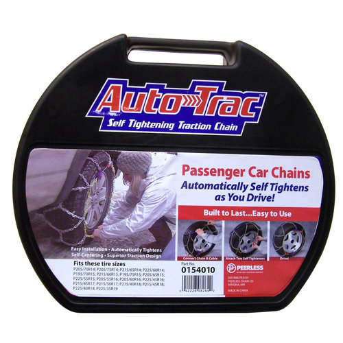 Peerless Auto-Trac Passenger Car Tire Chains, #154010