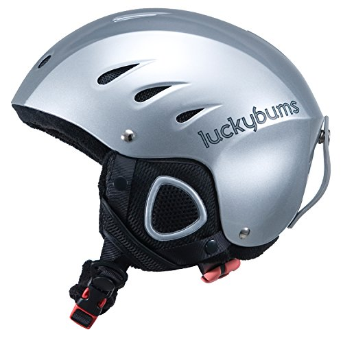 Lucky Bums Snow Sports Helmet, Silver, Xlarge by Lucky Bums