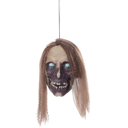 Undead Cathy Hanging Head Halloween Decoration - Halloween Express Jobs