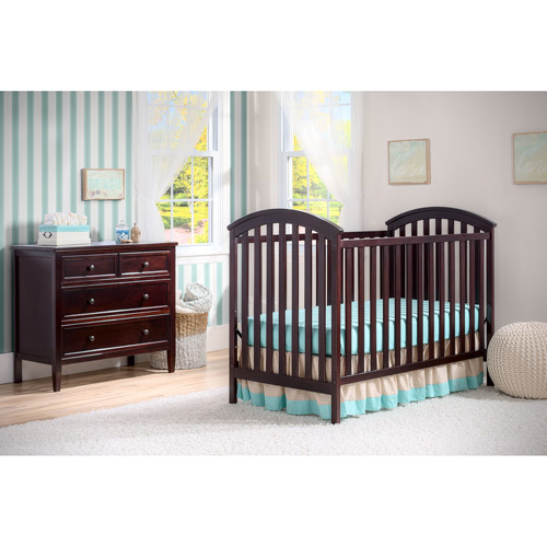 Delta Children's Products Arbour 3-in-1 Fixed-Side Convertible Crib, Choose Your Finish