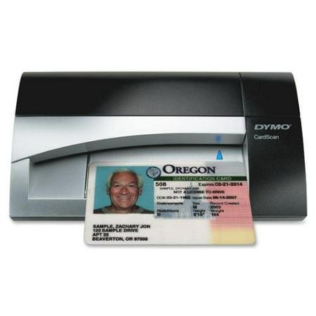 Dymo CardScan Card Scanner 300 dpi Optical USB by