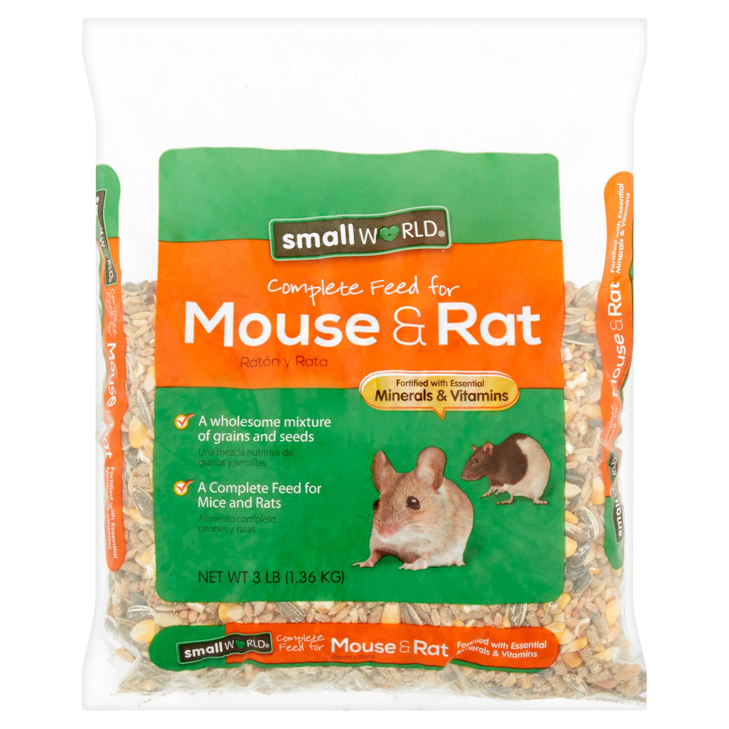 Small World Carnival Complete Feed For Mice & Rats, 3 lbs.