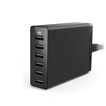 Anker 30W 6-Port USB Wall (Best Anker Usb Charger)