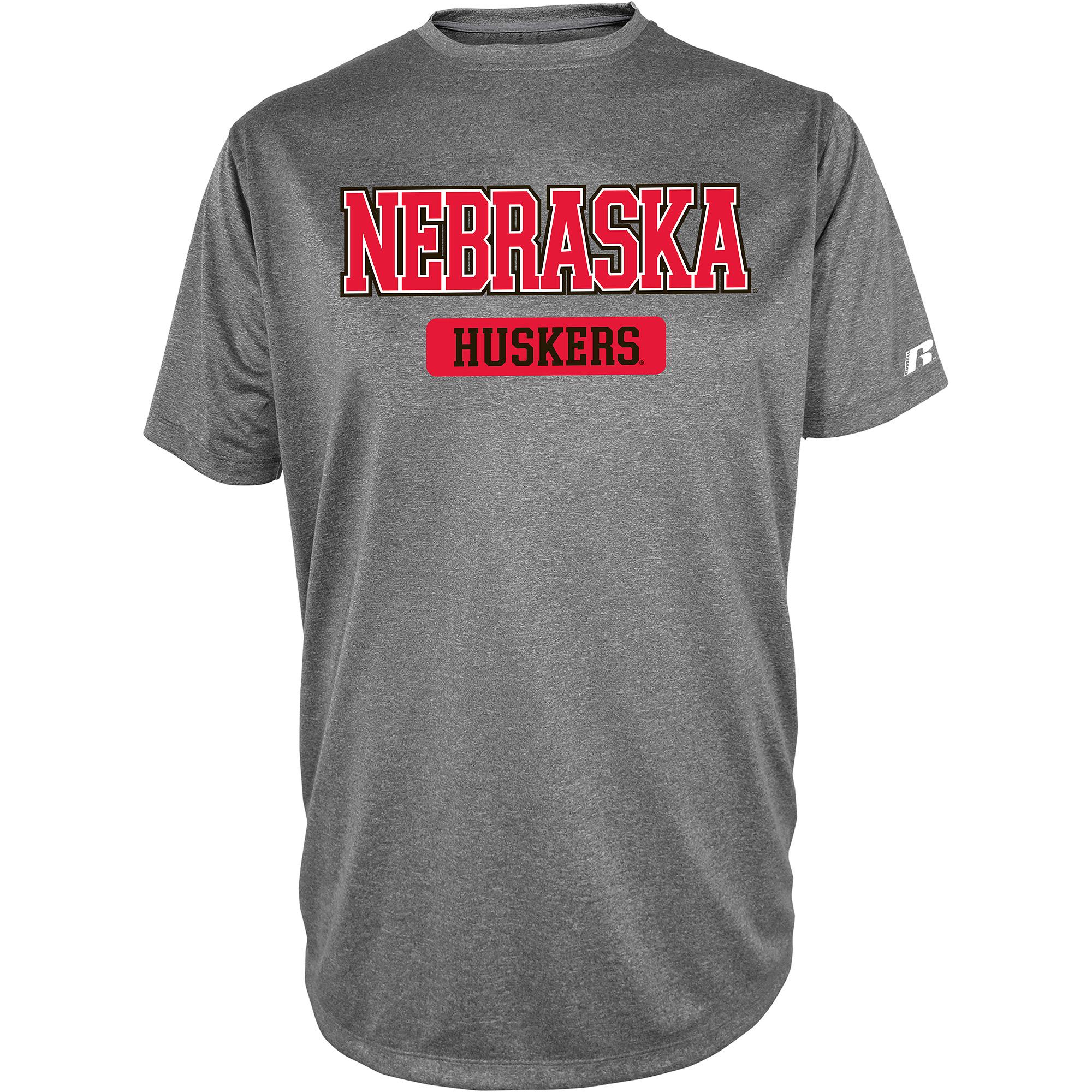 Russell NCAA  Nebraska Cornhuskers, Men's Impact T-Shirt