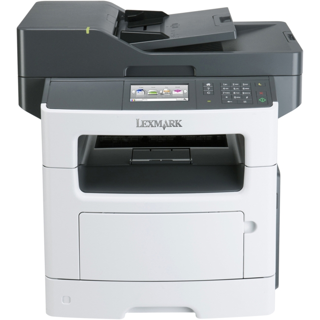 Lexmark MX511DE Laser Multifunction Printer - Monochrome - Plain Paper Print