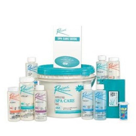 Deluxe Spa - Rendezvous Chlorine Deluxe Spa Hot Tub Start Up Chemical Care Kit & Guide