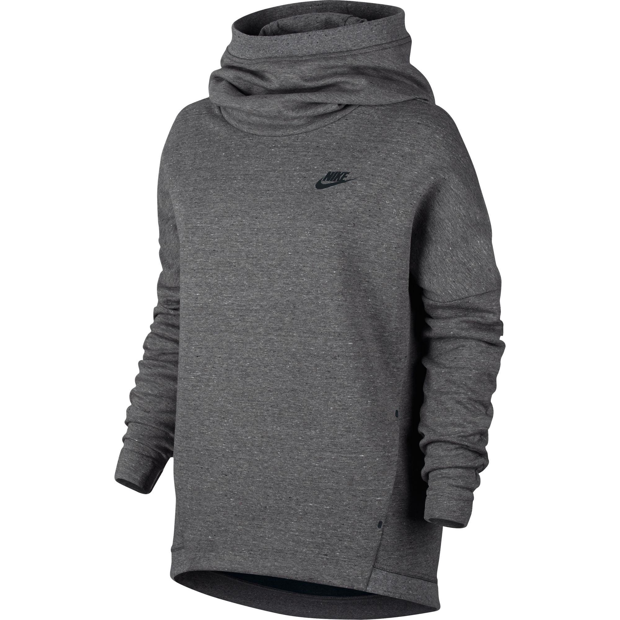 Nike Pullover Hoodie Grey Womens 77