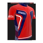 Bermuda Full Zipper Bike Short Sleeve Cycling Jersey  for Men - Size XS