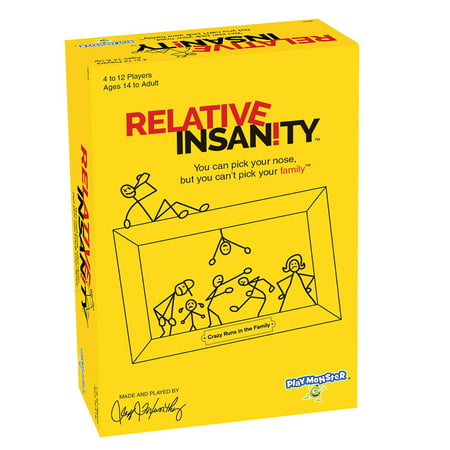 Family Party Games (Relative Insanity Board Game)