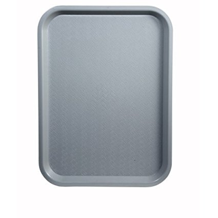 Winco Fast Food Tray, 14 by 18-Inch, Gray, Set of 6 by Winco