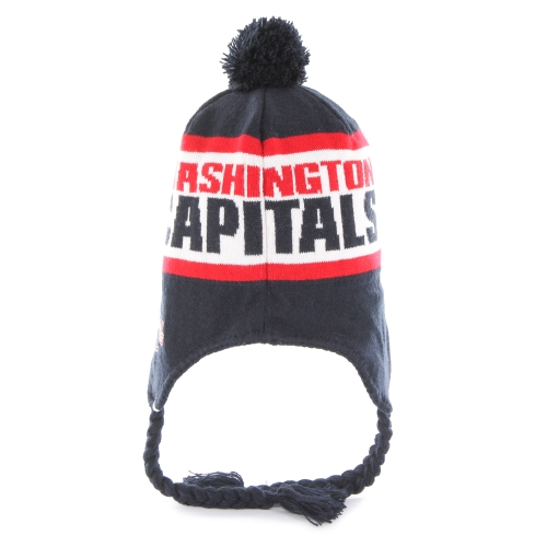 Washington Capitals '47 Brand Tassle Pom Knit Hat - Navy - OSFA