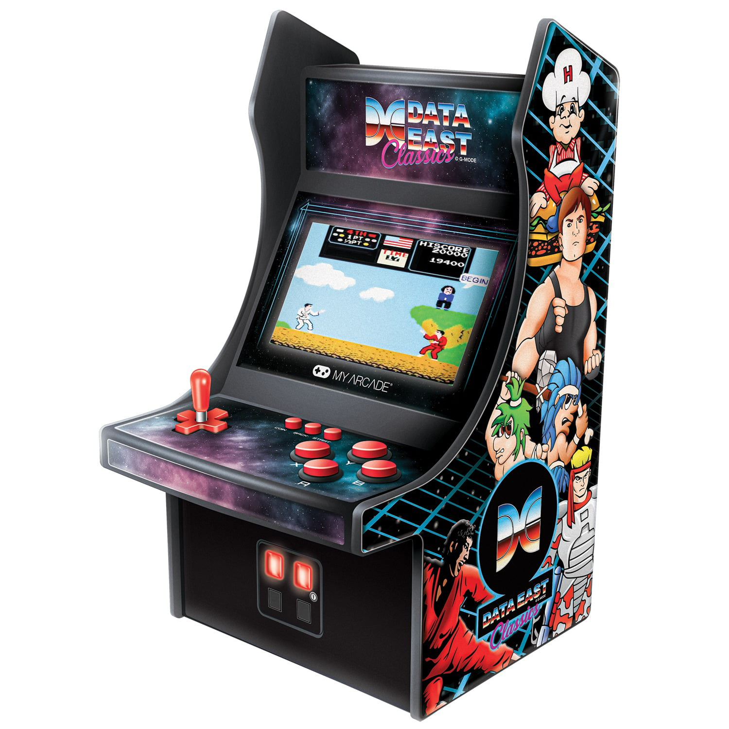 My Arcade Dgunl 3200 Data East Mini Player Walmart Com Walmart Com