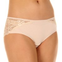 Felina Womens Charming Lace Hipster Panty (Bare, X-Large)