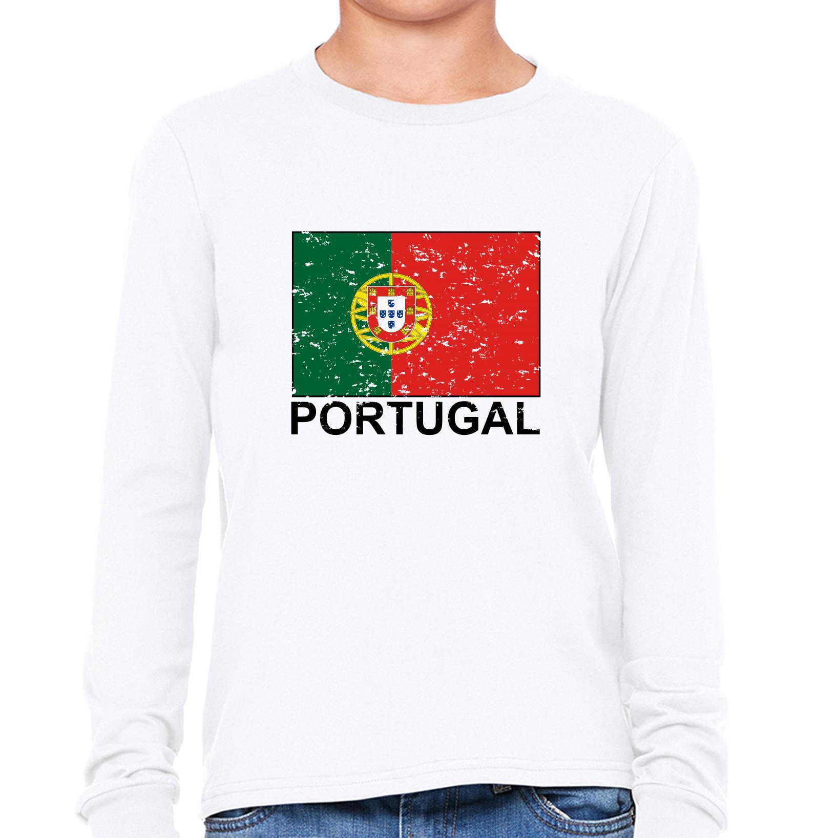 Portugal Flag Special Vintage Edition Boy
