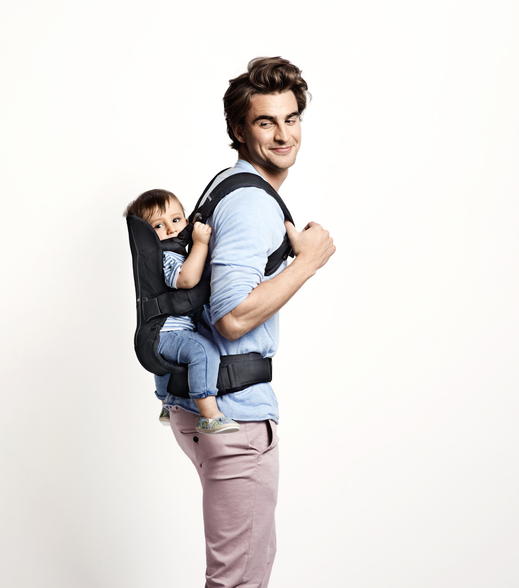 b7b6733e458 BABYBJORN Baby Carrier One Air - Black - Walmart.com