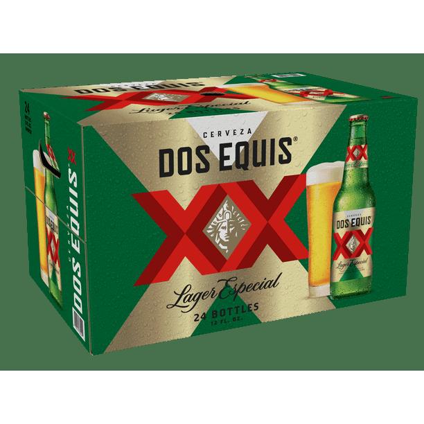 Cerveza Dos Equis Lager Especial Mexican Beer 24 Pack 12 Oz Bottles Walmart Com Walmart Com