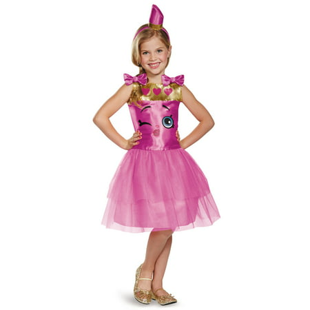 Shopkins Lippy Lips Classic Costume for Kids - Lips Costume