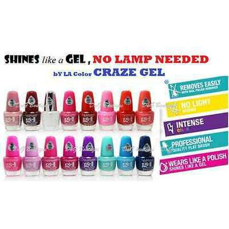 LWS LA Wholesale Store 16 PCs L.A.Colors Nail polish Extreme Shine ...