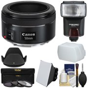 Best Canon Flashes - Canon EF 50mm f/1.8 STM Lens + Flash Review