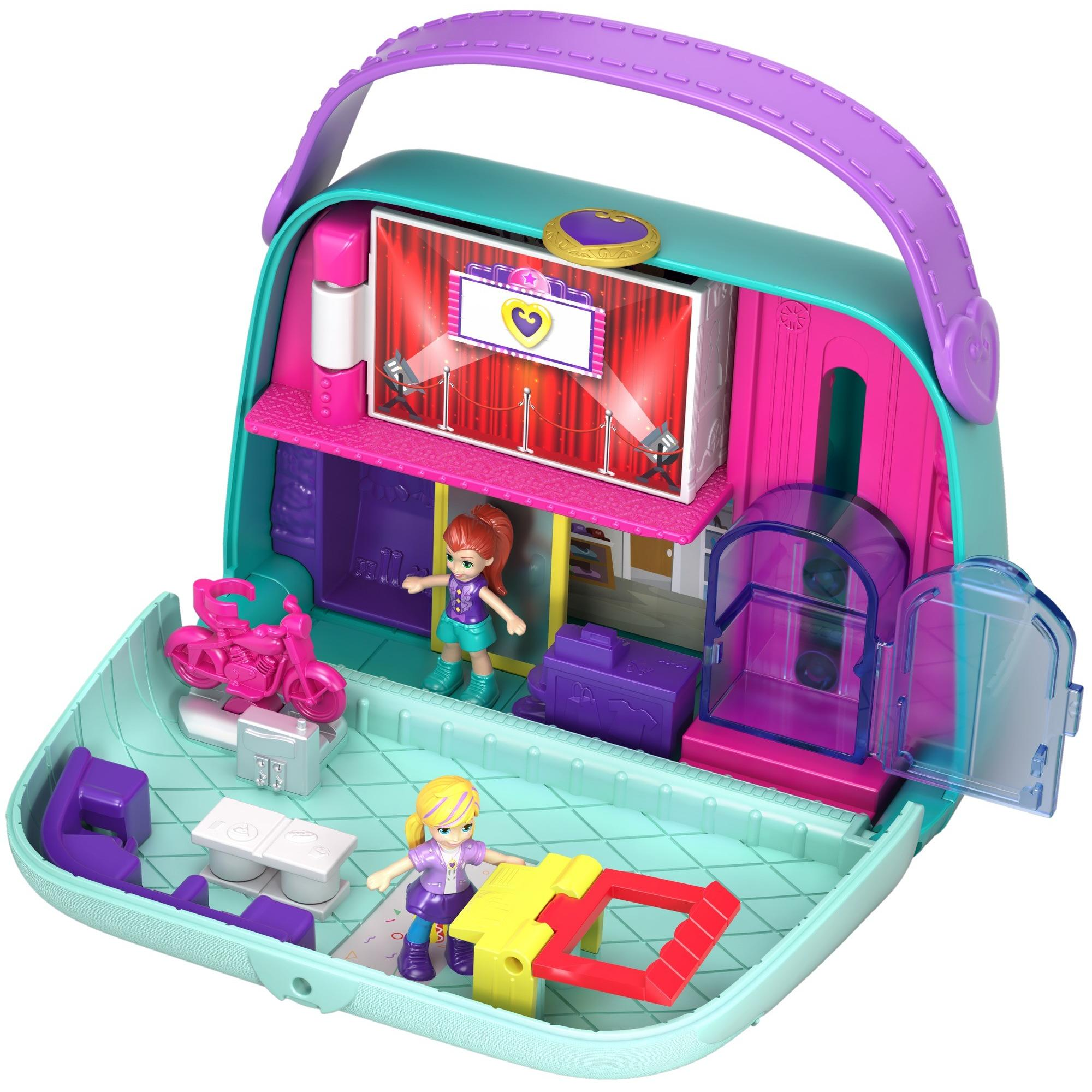 Polly Pocket Big Pocket World Mall Purse with Micro Polly & Lila Dolls