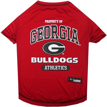 Pets First Collegiate Georgia Bulldogs Pets Pet T-shirt, Assorted Sizes