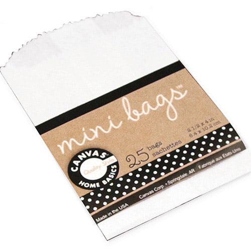 """Mini Gift Bags, 2.5"""" x 4"""", 25pk"""