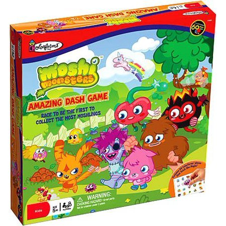 Monsters University Halloween Games (Moshi Monsters Colorforms Amazing Dash Board)