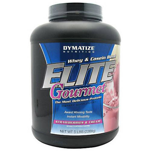 Dymatize  Whey & Casein Blend, Strawberries and Cream, 5 LB