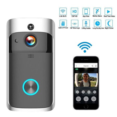 Tagital Wireless Smart WiFi Video DoorBell IR Visual Ring Camera Intercom Home (Best Ring Video Doorbells)