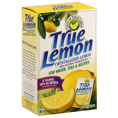 True Lemon Crystallized Lemon, 32 count, (Pack of 12)