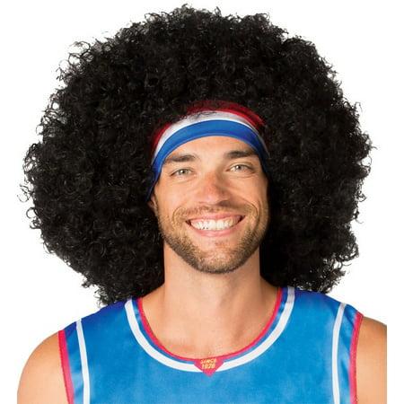 Harlem Globetrotters Moose Wig Adult Halloween Accessory