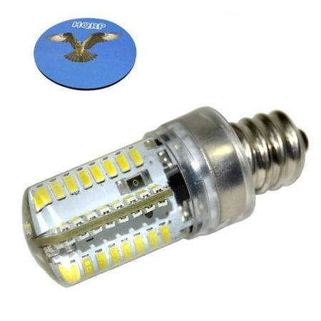 Hqrp e12 candelabra base led bulb cool white ac 110v for whirlpool hqrp e12 candelabra base led bulb cool white ac 110v for whirlpool 22002263 refrigerator dryer sciox Gallery