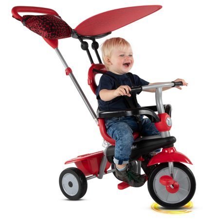 smarTrike Vanilla 4-in-1 Tricycle Baby toddler 10-36 months Smart Trike Push Trike -