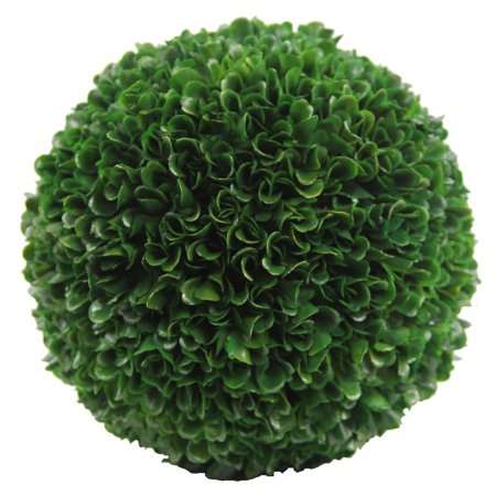 Admired By Nature Faux Preserved Artificial Boxwood Ball Topiary Plant 7.25