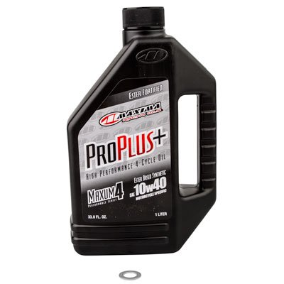 Transmission Oil Change Kit With Maxima Pro Plus Full Synthetic 10W-40 for KTM 300 XC-W i Six Days (Fuel Injected)
