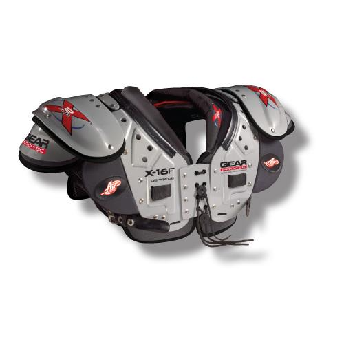 X2 AIR X-16F QB/WR/DB Football Shoulder Pads-Size:MED