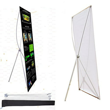 TheDisplayDeal® X Type Upgraded Banner Stand, Support 24