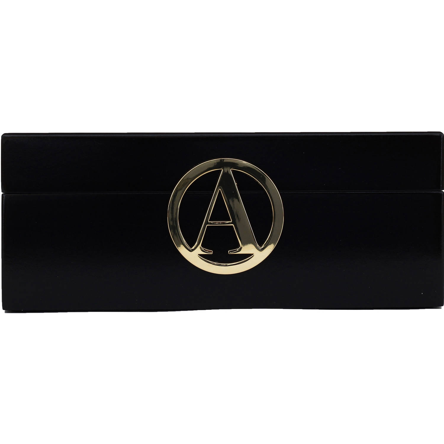 Fashion Acces Bazaar Initial Jewelry Box Ltr A In Black Walmartcom